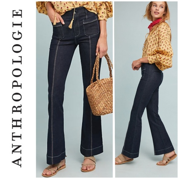 Anthropologie Denim - Pilcro and the Letterpress High Waist Flare Jeans